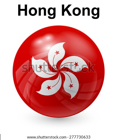 hong kong official state flag