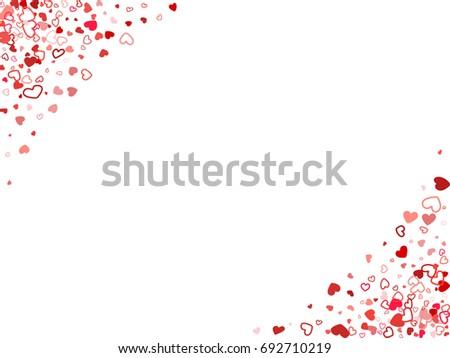 Horizontal Banner Corners Wedding Background Invitation Stock Vector 692710219