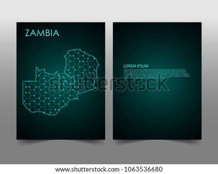 Horizontal banners template zambia map sphere stock photo photo horizontal banners template with zambia map sphere vector illustration abstract business card vector template with reheart Choice Image