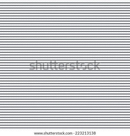 Horizontal lines pattern background. Abstract wallpaper with stripes or curves. Grid lines texture. Cells repeating pattern. White background. Vector - stock vector