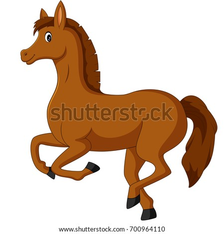 horse cartoon stock vector 700964110 shutterstock rh shutterstock com horse cartoon images free download horse cartoon images free download