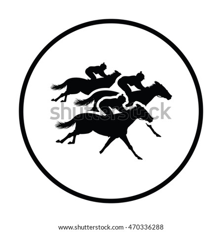 What company has a logo with an orange horse in a circle