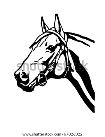 Vintage Horse Stock Images, Royalty-Free Images & Vectors ...