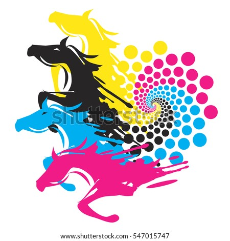horse jumping silhouette stock images, royalty-free images ... - Horse Pictures Print Color