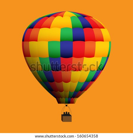 Hot Air Balloon - Set B