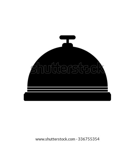 Hotel Bell, Service Bell, Reception bell icon - stock vector