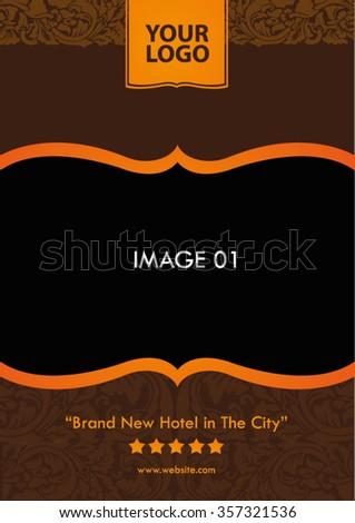 Hotel Flyer Template Elegant Flyer Template Stock Vector Hd Royalty