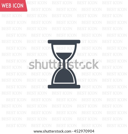 hour glass vector icon