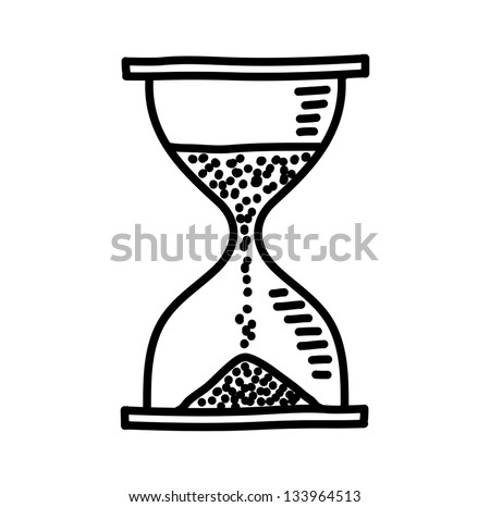Hourglass drawing