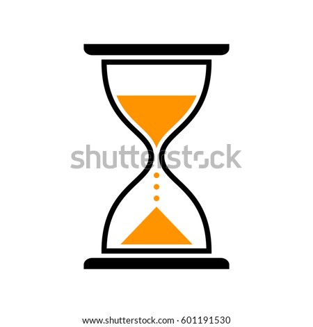 hourglass vector icon isolated object on stock vector 2018 rh shutterstock com hourglass vector graphic free hourglass vector image