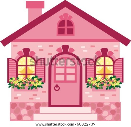 house - stock vector