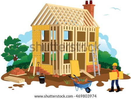 Building house stock images royalty free images vectors for House building website