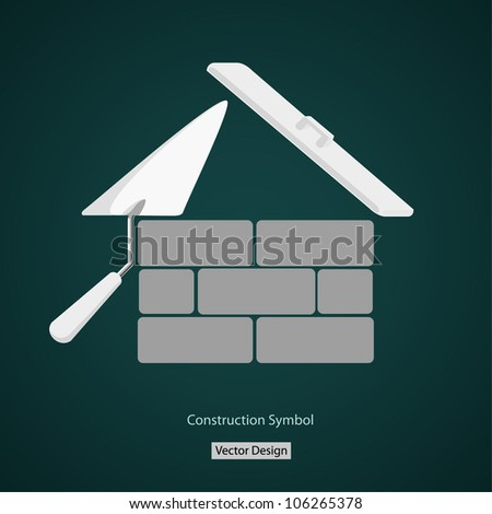 house building symbol vector creative design - stock vector
