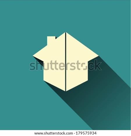 House design vector - stock vector