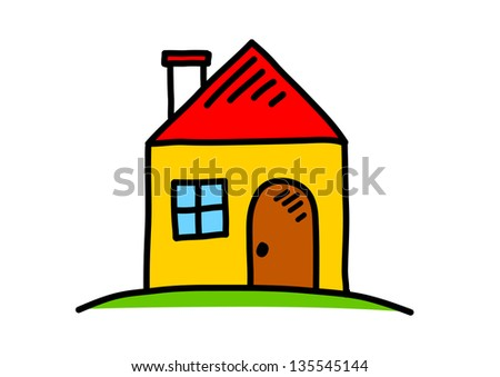 Simple House Drawing Stock Images Royalty Free Images