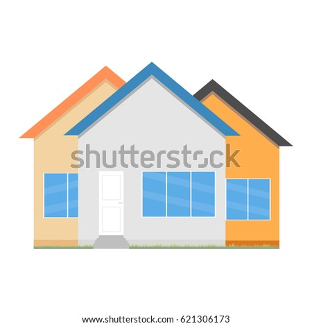 House Flat Icon Design Your Own Stock Vector 621306173 - Shutterstock