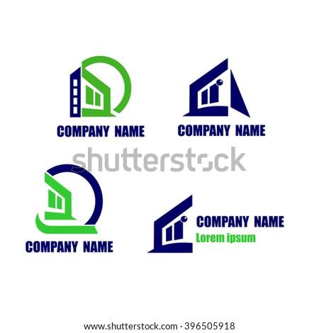 Logo Maison Moderne Banque DImages Vecteurs Et