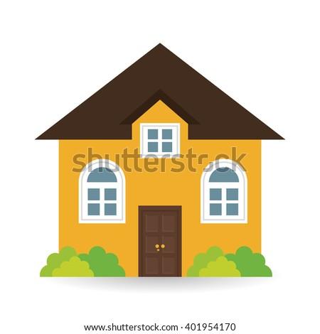 House Icon Design, Vector Illustration