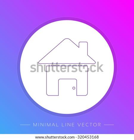 House Icon / House Icon Object / House Icon Picture / House Icon Drawing / House Icon Image / House Icon Graphic / House Icon Art / House Icon JPG / House Icon JPEG / House Icon EPS / House Icon AI  - stock vector