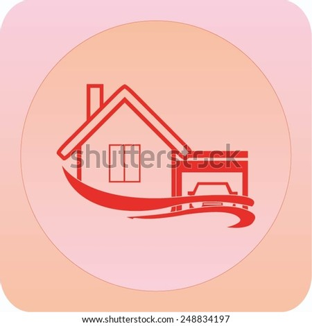 house icon, vector illustration