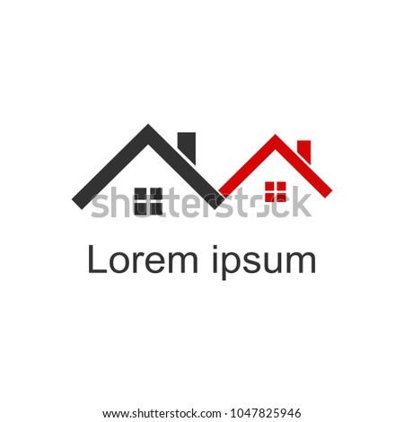 House Logomodern Designvector Illustration Stock Vector 1047825946
