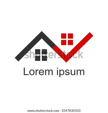 House Logomodern Designvector Illustration Stock Vector 1047830503