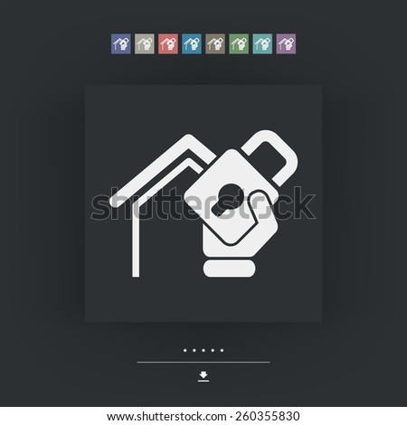 House protection - stock vector