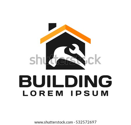 Home improvement icons stock images royalty free images for House remodeling tools
