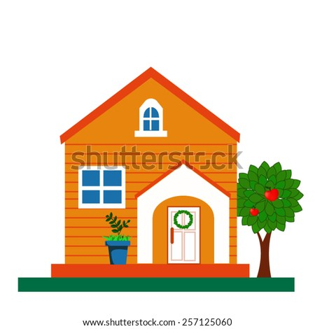 House vector illustration - stock vector