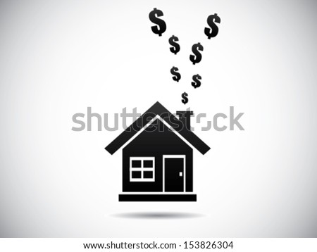 Household Expenditure - stock vector