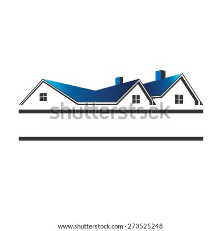 Houses logo for real estate