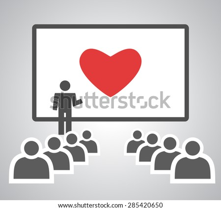 How To Get A Love - stock vector