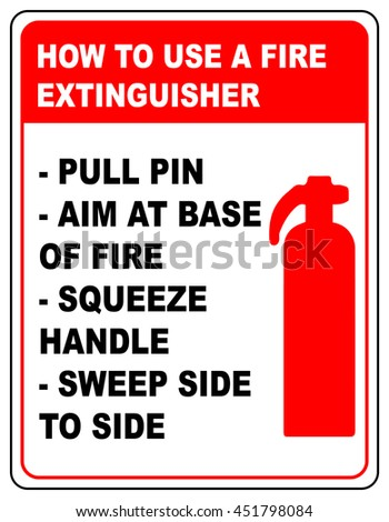 Fire Extinguisher Label Stock Images, Royalty-Free Images ...