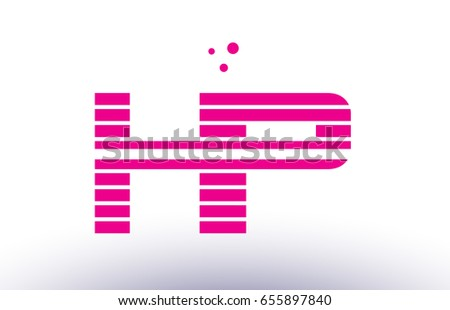 h and p template - p purple stock images royalty free images vectors