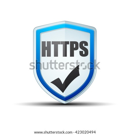 HTTPS Shield sign