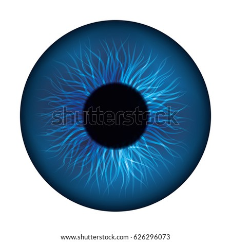 Human Eye Symbol Stock Vector 626296073 Shutterstock
