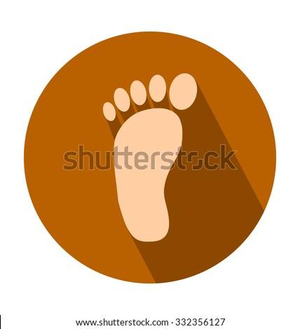 Nhân chân màu Vector Biểu tượng