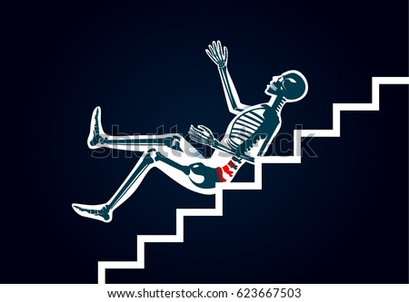 Falling Down Stock Images Royalty Free Images Amp Vectors