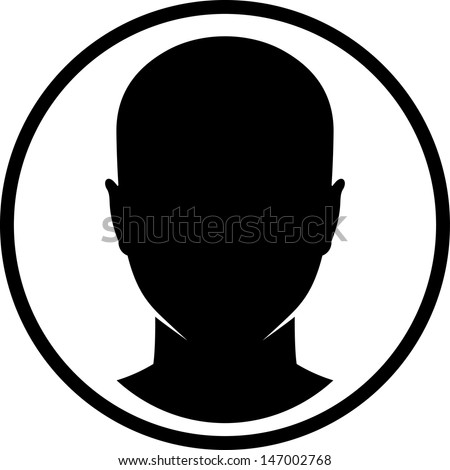 Female Face Silhouette Stock Images, Royalty-Free Images