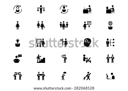 Human Resource Vector Icons 3