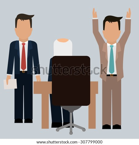Human resources digital design, vector illustration 10 eps graphic