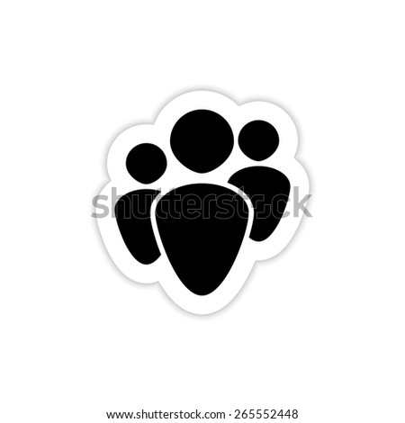 Human Resources Icons on a white background with shadow  - stock vector