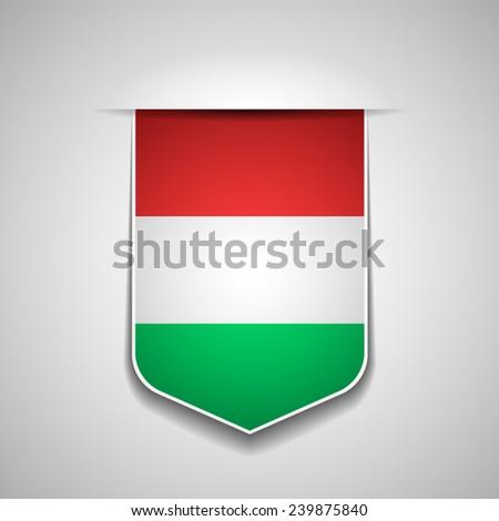 Hungary - stock vector