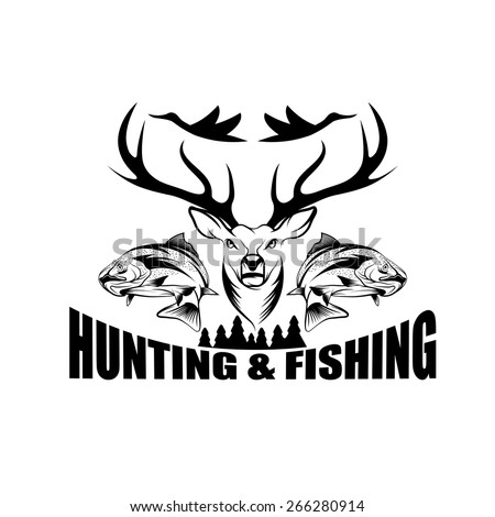 Image gallery hunting fishing clip art for Fishing times free