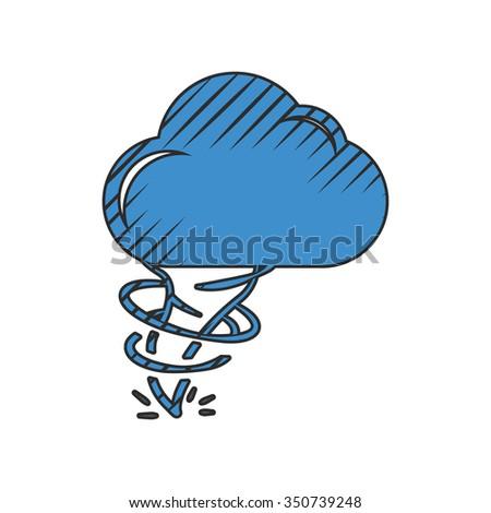 Hurricane icon. Hurricane icon vector. Hurricane icon simple. Hurricane icon app. Hurricane icon web. Hurricane icon logo. Hurricane icon sign.Hurricane icon ui.Hurricane icon flat.Hurricane icon eps. - stock vector