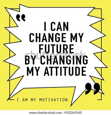 how to change my attitude