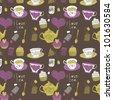 I Love Tea - stock vector
