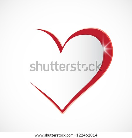 I love you. Vector background - stock vector