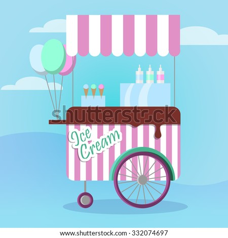 Ice Cream Shop Stock Photos, Royalty-Free Images & Vectors ...
