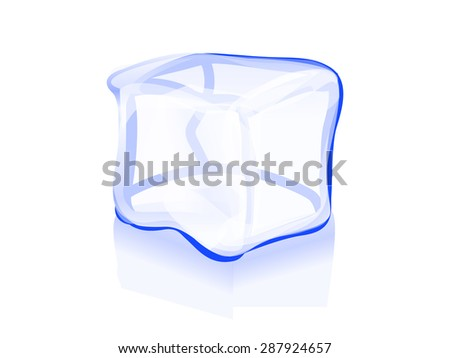 ice cube icon vector symbol illustration